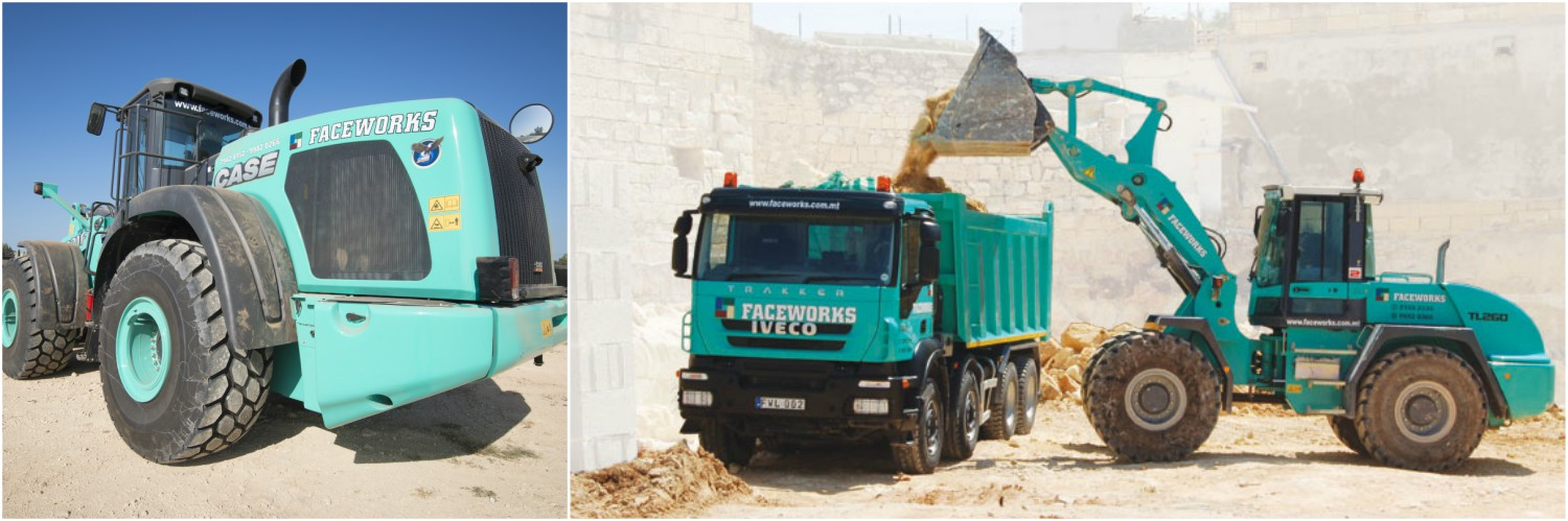 Excavation Demolition Civil Works Inert Waste Material and Recycling