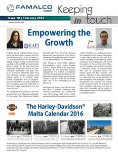 Famalco Newsletter February 2016