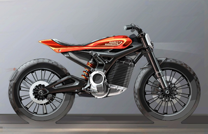 Harley Davidson (Future Electric Model)