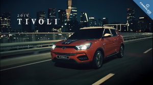 SsangYong Tivoli Orange Malta