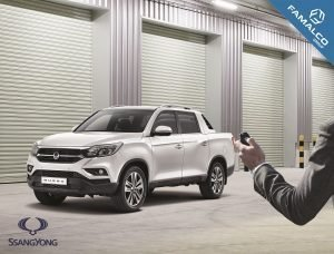 Musso: The game-changing pick-up truck from SsangYong Motor.