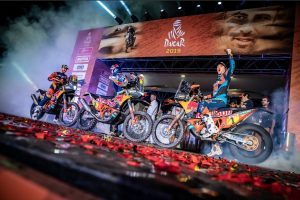 KTM triumph at the 2019 Dakar Rally