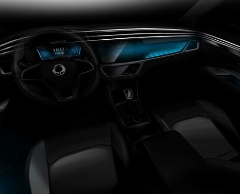 new Korando Geneva motor show