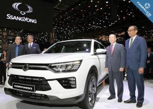 SsangYong Motors Ltd., presenting the new Korando