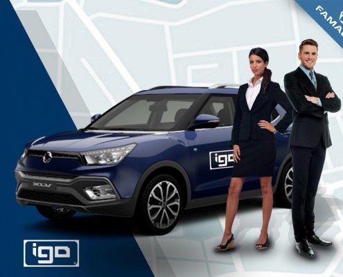 iGO Book a cab