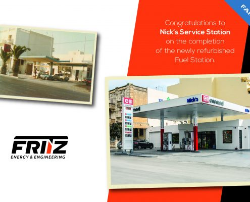 Nicks Service Station by Fritz Energy
