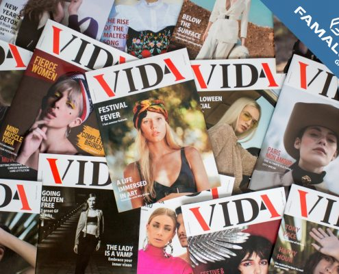 Vida magazine first issue Competition
