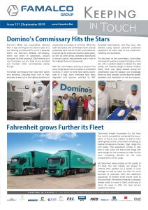 Famalco Group Newsletter September 2019