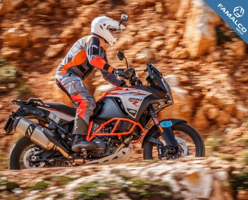 KTM Bikes at the 2019 Gibraltar Rally