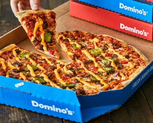 Dominos new outlet malta