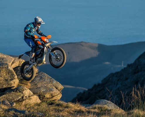 KTM electric E-XC motorcycle